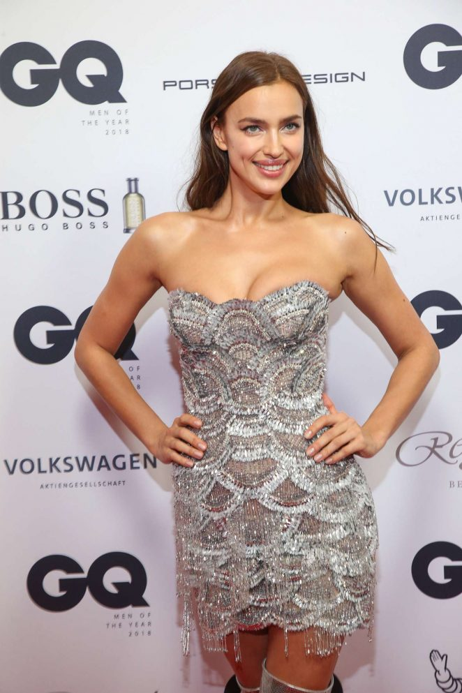 Irina Shayk - 2018 GQ Men of the Year Award in Berlin
