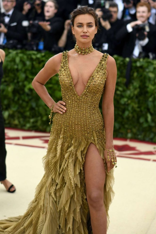 Irina Shayk – 2018 MET Costume Institute Gala in NYC