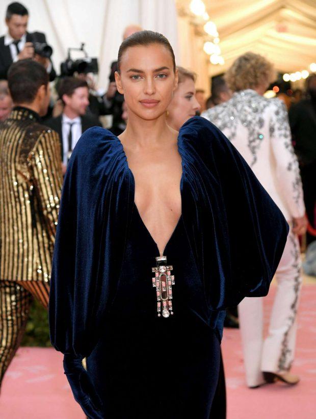 Irina Shayk - 2019 Met Gala in NYC