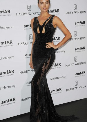 Irina Shayk - amfAR Dinner 2015 in Paris