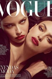 Irina Shayk and Adriana Lima for Vogue Spain Cover (August 2019)