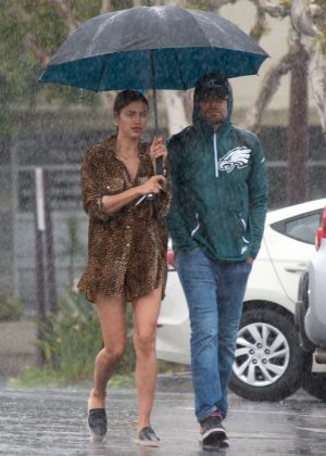 Irina Shayk and Bradley Cooper - Shopping in Los Angeles