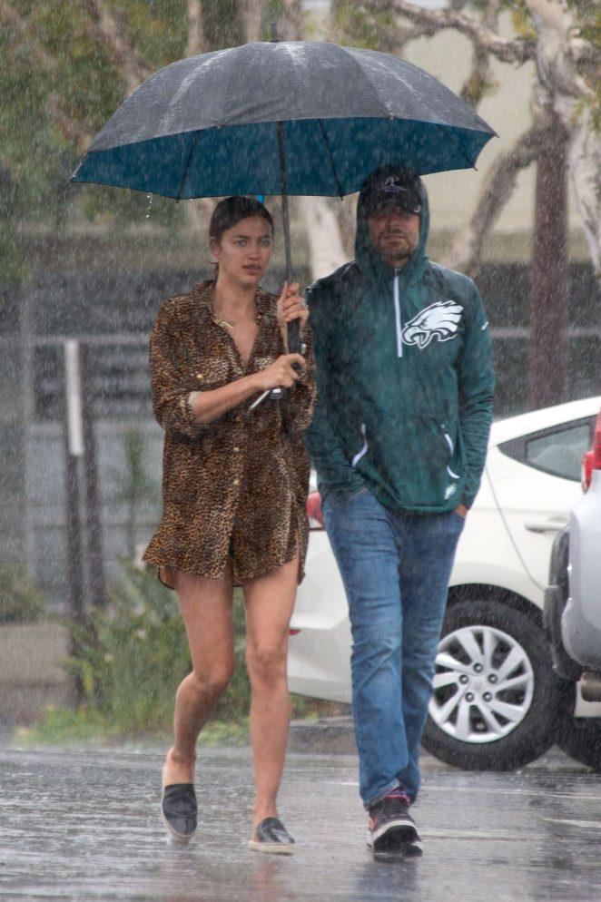 Irina Shayk and Bradley Cooper - Shopping in Los Angeles