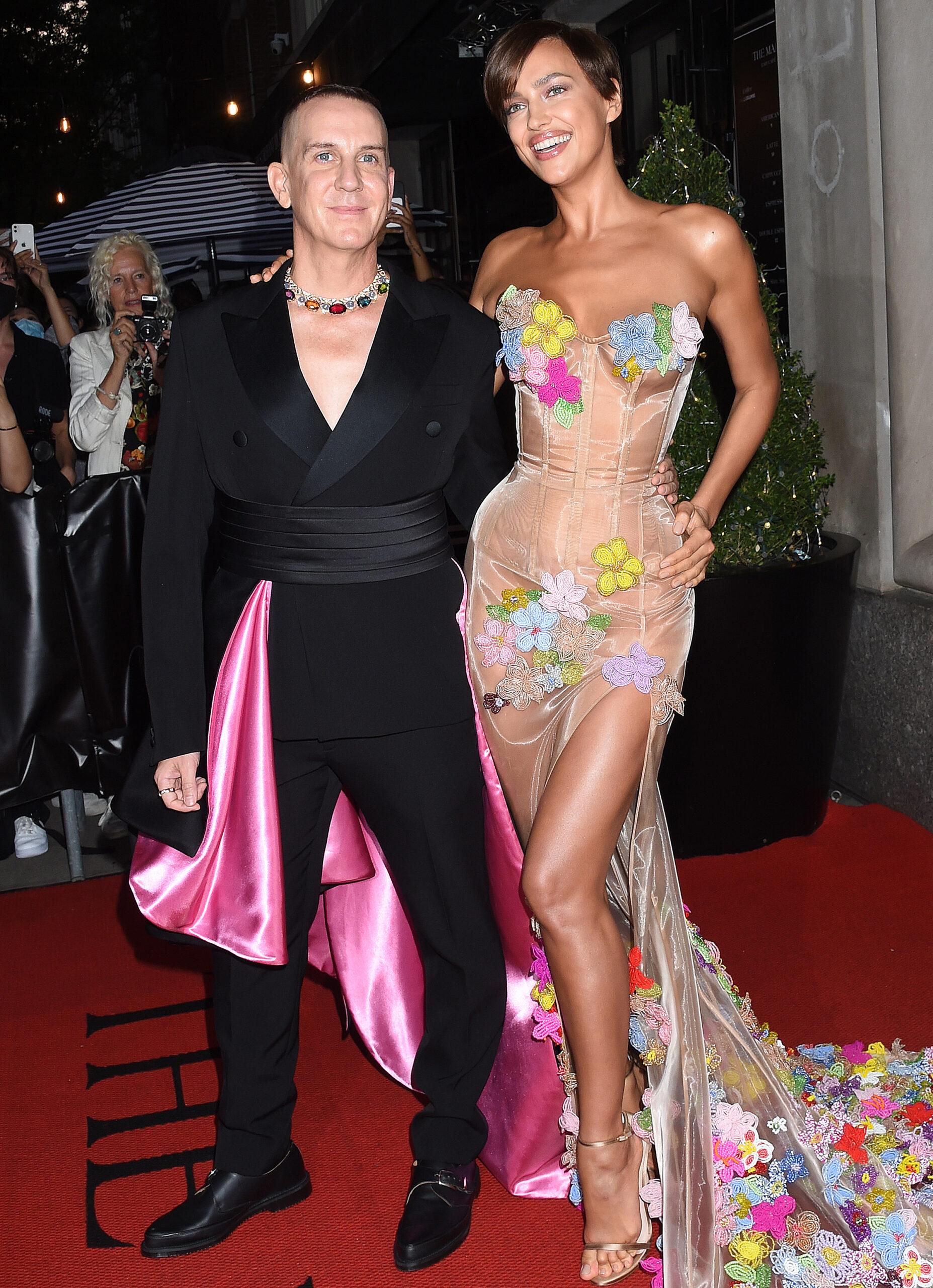 Irina Shayk 2021 : Irina Shayk – departing The Mark Hotel in New York City for the 2021 Met Gala-05