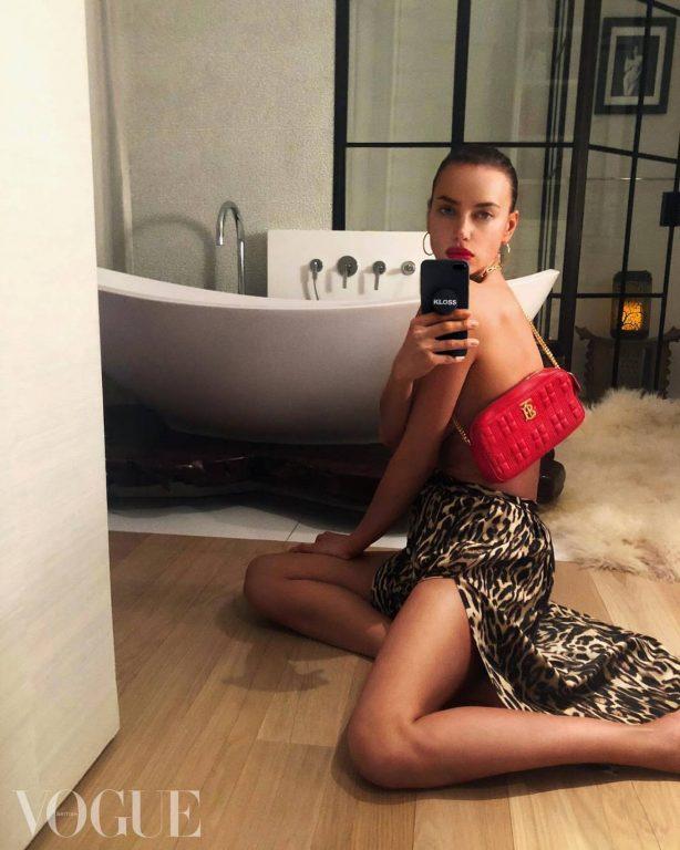 Irina Shayk for British Vogue Magazine (July 2020)