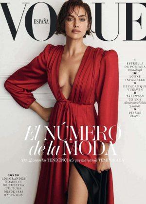 Irina Shayk for Vogue Spain Magazine (September 2018)