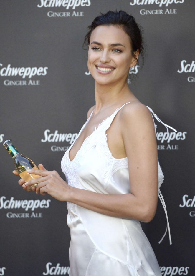 Irina Shayk - Ginger Ale by Schweppes Party in Madrid