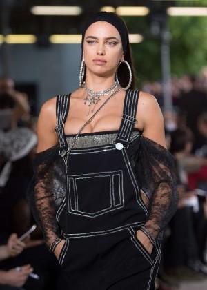 Irina Shayk - Givenchy 2016 Fashion Show in Paris