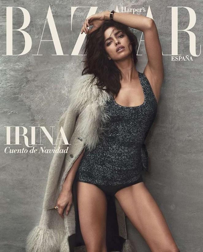 Irina Shayk - Harper's Bazaar Spain Cover (December 2015)