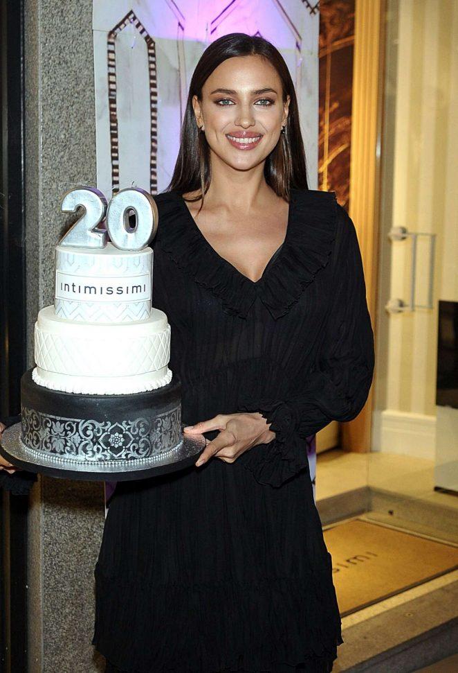 Irina Shayk – Intimissimi 20 years celebration in Madrid