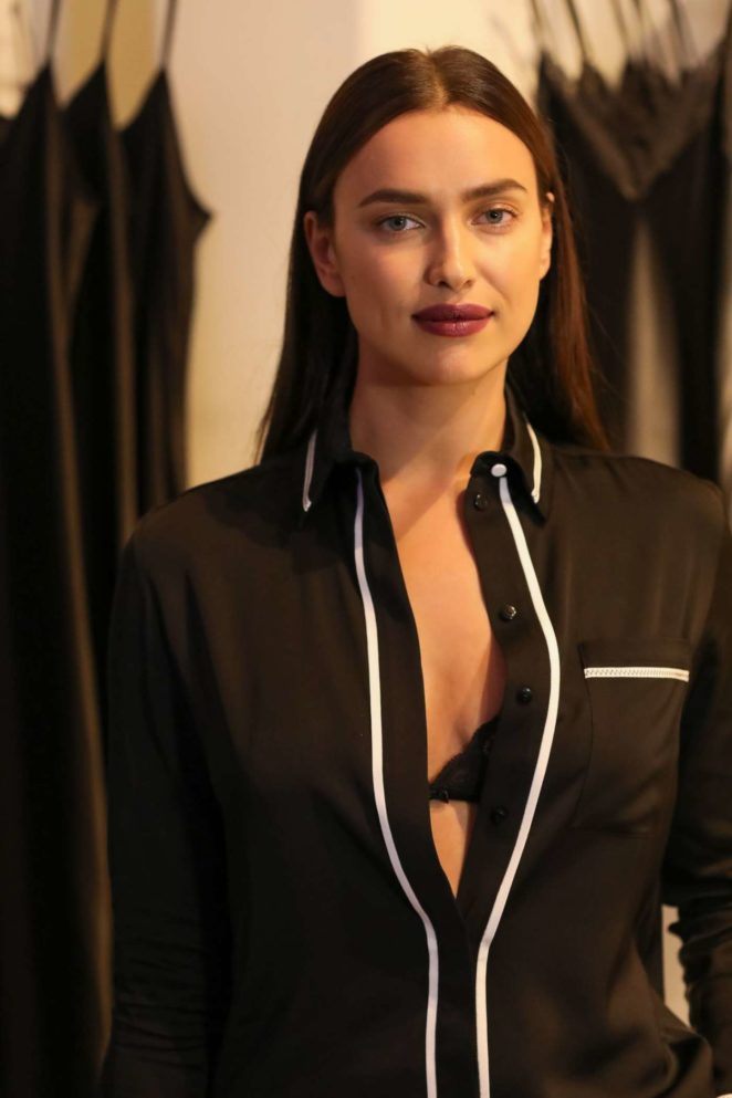 Irina Shayk - Intimissimi Flagship Boutique Opening in New York