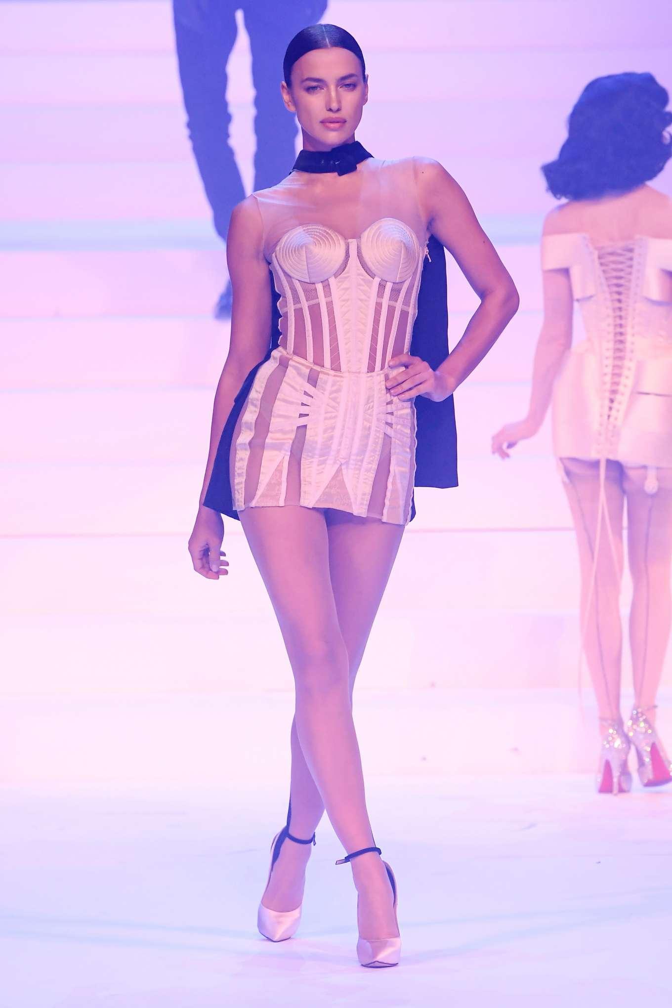 Irina Shayk - Jean-Paul Gaultier Runway Show in Paris