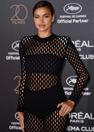 Irina Shayk - L'Oreal 20th Anniversary Party in Cannes