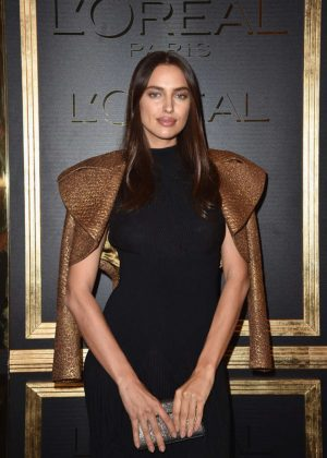 Irina Shayk - L'Oreal Gold Obsession Party 2016 in Paris