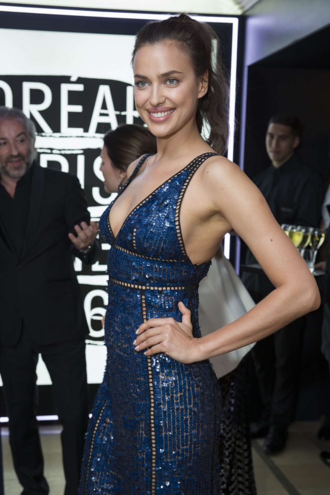 Irina Shayk - L'Oreal Party at 2016 Cannes Film Festival