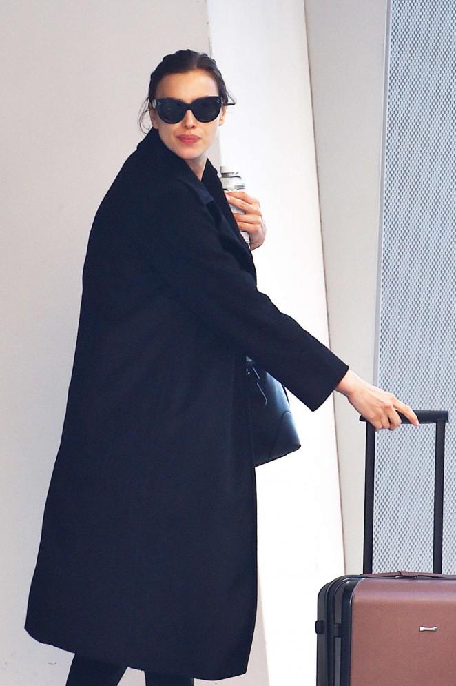 Irina Shayk - Leaving her West Village Apartment in New York