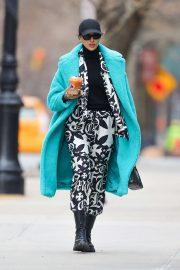 Irina Shayk - leaving Joe and The Juice in NYC