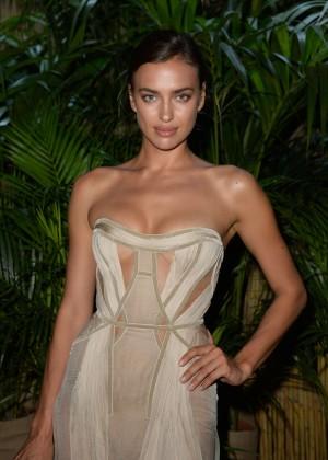 Irina Shayk - Leonardo DiCaprio's Charity Gala in St. Tropez