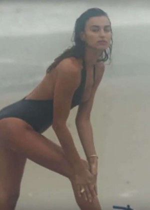 Irina Shayk - LOVE Advent Screencaps