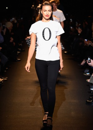 Irina Shayk - Naomi Campbell's Fashion For Relief Charity Fashion Show in NYC