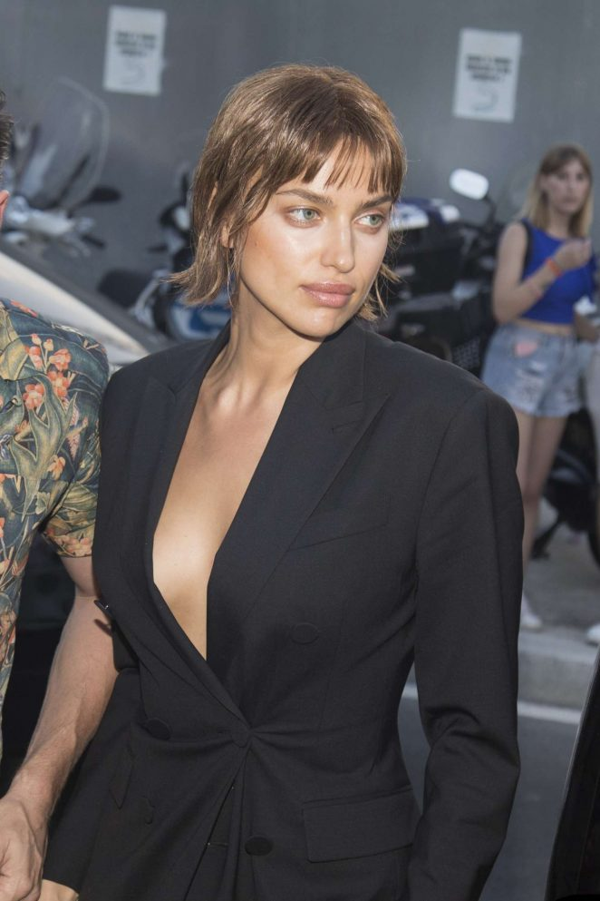 Irina Shayk - Out and about in Milano