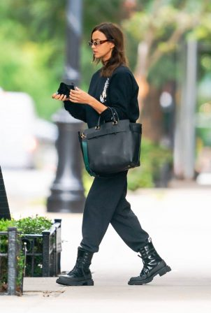 Irina Shayk - Out and about in New York