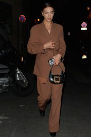 Irina Shayk - Out and about in Paris