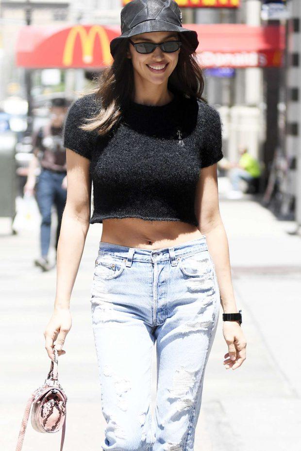 Irina SHayk - Out for shopping in Soho, New York
