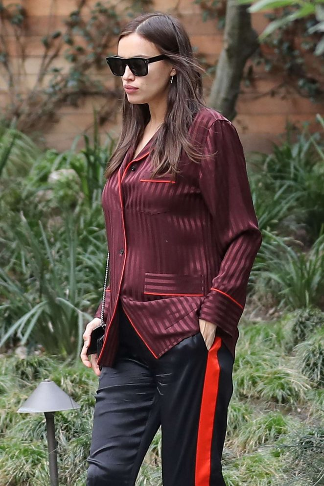 Irina Shayk out in Los Angeles
