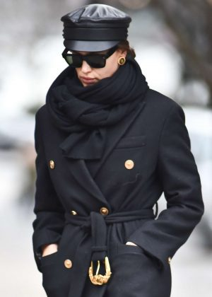 Irina Shayk - Out in New York City