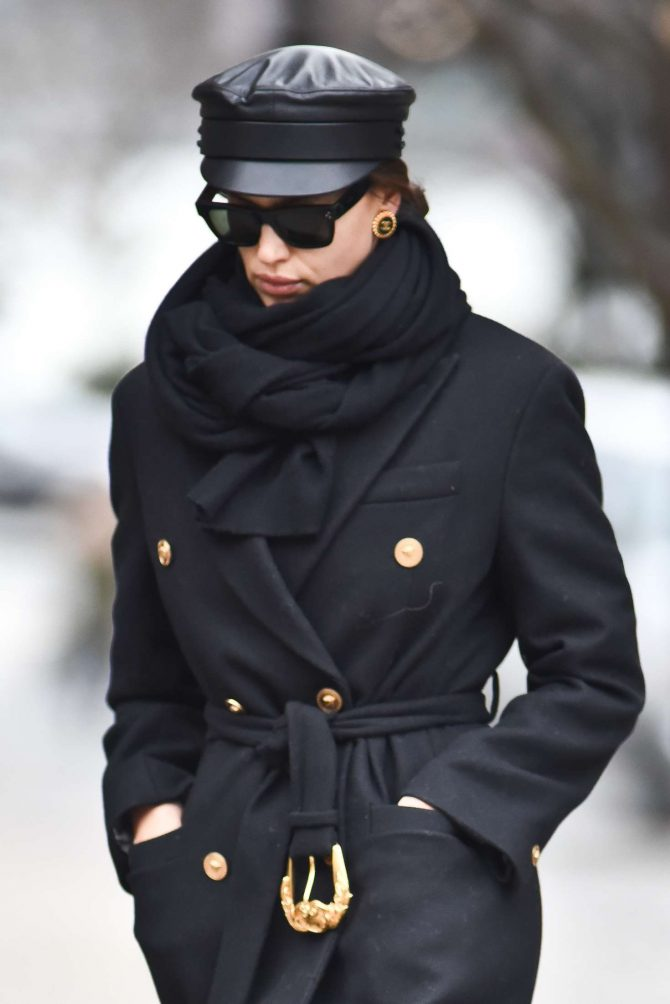 Irina Shayk – Out in New York City