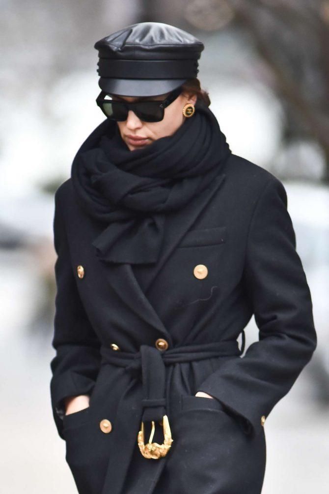 Irina Shayk - Out in New York City