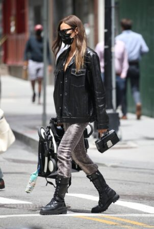 Irina Shayk - Out in New York