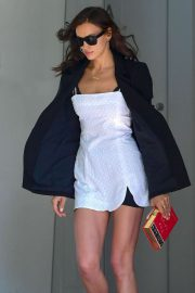 Irina Shayk - Out in New York