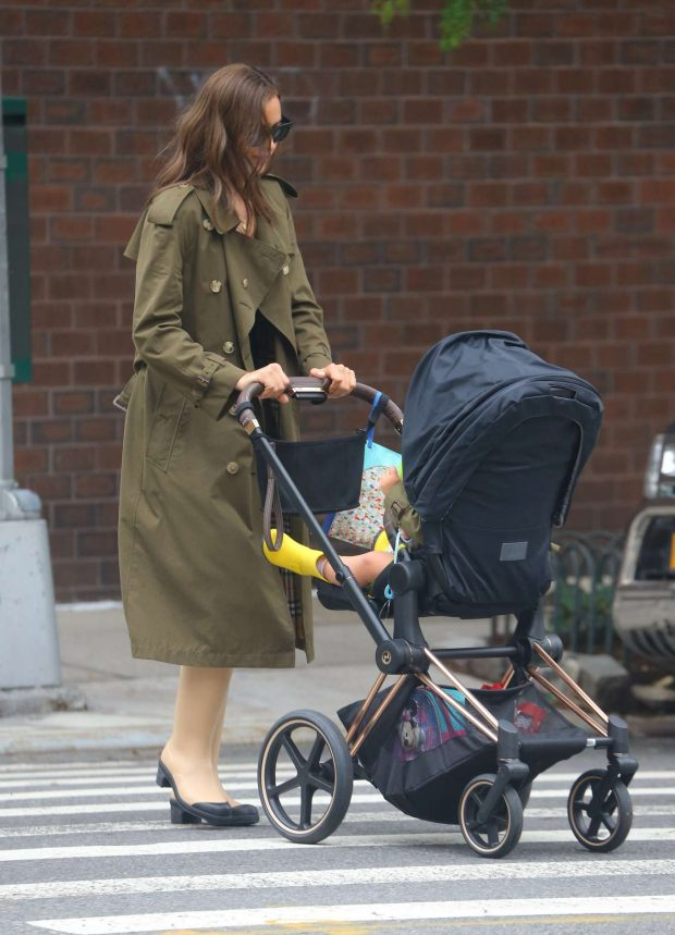 Irina Shayk: Out in New York-15