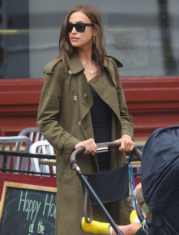 Irina Shayk: Out in New York-16