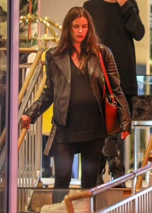 Irina Shayk out shopping on Melrose Ave in West Hollywood