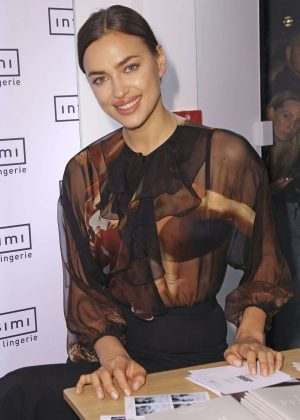 irina shayk promoted 39 the perfect bra book 39 in munich. Black Bedroom Furniture Sets. Home Design Ideas