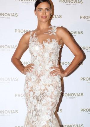 Irina Shayk - Pronovias Fashion Show 2015 in Barcelona