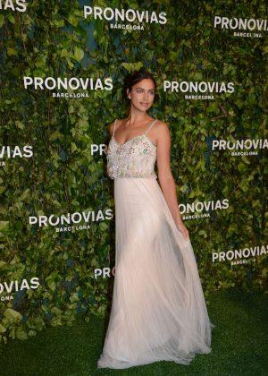Irina Shayk - Pronovias Fashion Show in Barcelona