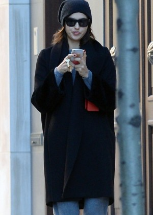 Irina Shayk - Returns To Manhattan Residence in NYC