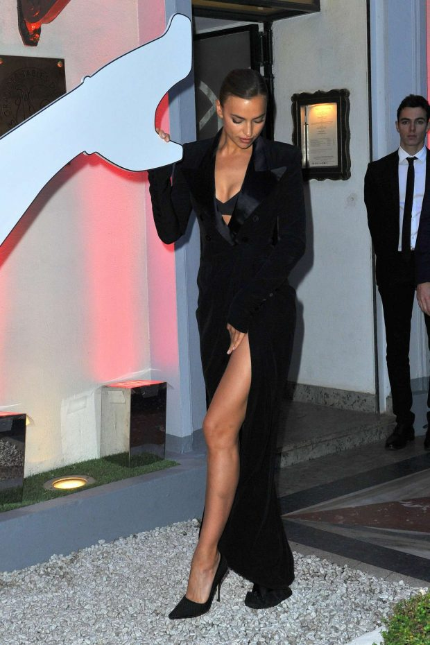 Irina Shayk: Scandal by Jean-Paul Gaultier Party -01