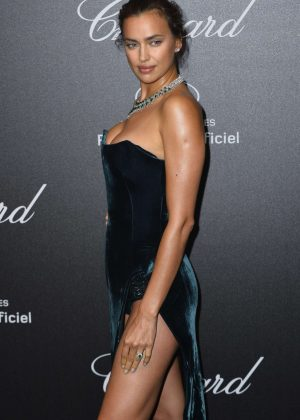 Irina Shayk - Secret Chopard Party at 208 Cannes Film Festival