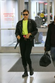Irina Shayk - Seen at JFK Airport in New York