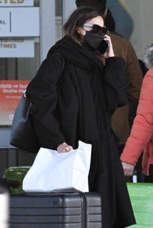 Irina Shayk - Seen at JFK Airport in New York