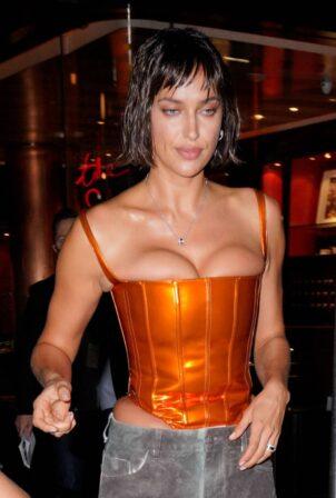 Irina Shayk - Seen at the Bulgari party at Le Bain in New York City