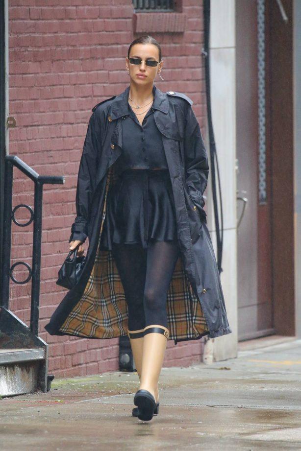 Irina Shayk - seen on the streets of New York City