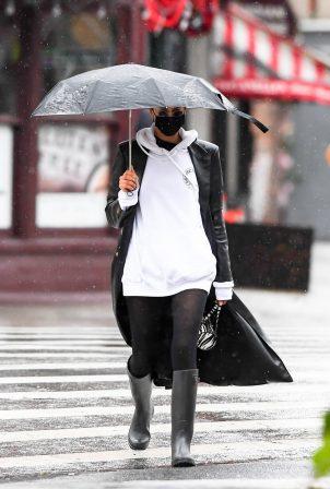 Irina Shayk - Seen out in New York City