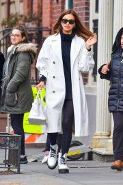 Irina Shayk - Shopping with her mother Olga Shaykhlislamova in NY