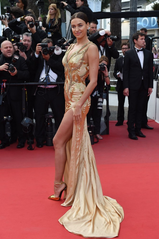 "Irina Shayk - ""Sicario"" Premiere in Cannes"